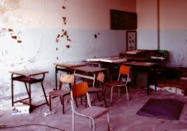 scuola abbandonata