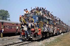 treni affollati